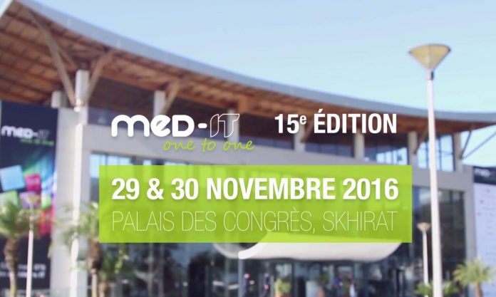 Salon MED-IT sous le