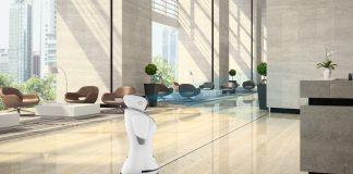 """Med-IT présente le robot humanoïde """"Sanbot"""", une première au Maroc !"""