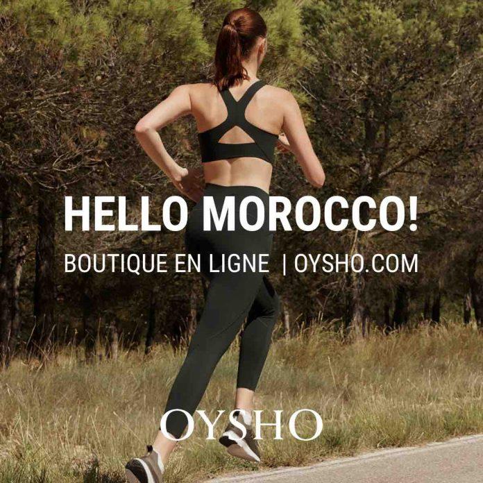 Oysho lance sa boutique en ligne à travers le site dès le 8 octobre 2020