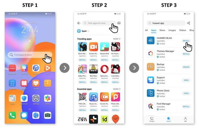 Téléchargez vos applications préférées sur HUAWEI Y7a avec AppGallery et Petal Search