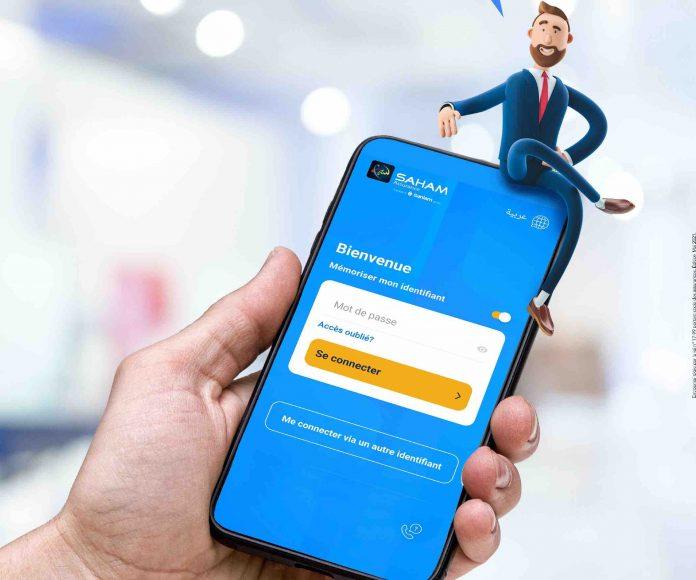 L'application mobile SAHAM Assurance offre une large palette de services innovants