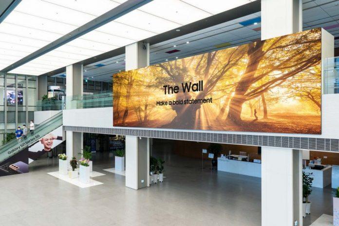"""Maroc : Samsung lance son écran géant """"The Wall 2021"""" à travers le monde entier"""