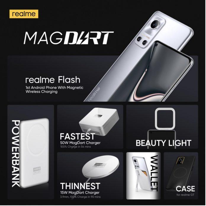 Maroc : realme lance bientôt à l'international la solution de recharge sans fil magnétique «MagDart» la plus rapide au monde