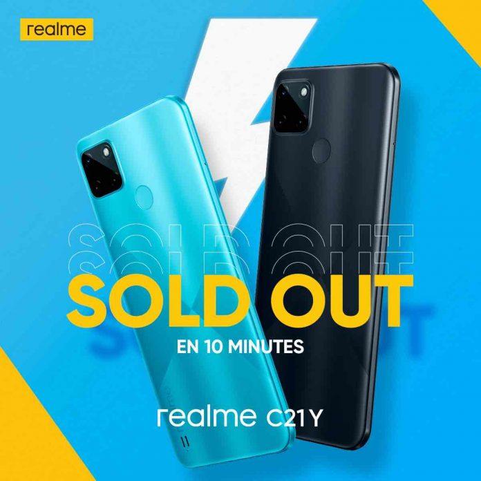 Smartphones realme C21Y : Des ventes flash records sur Jumia !