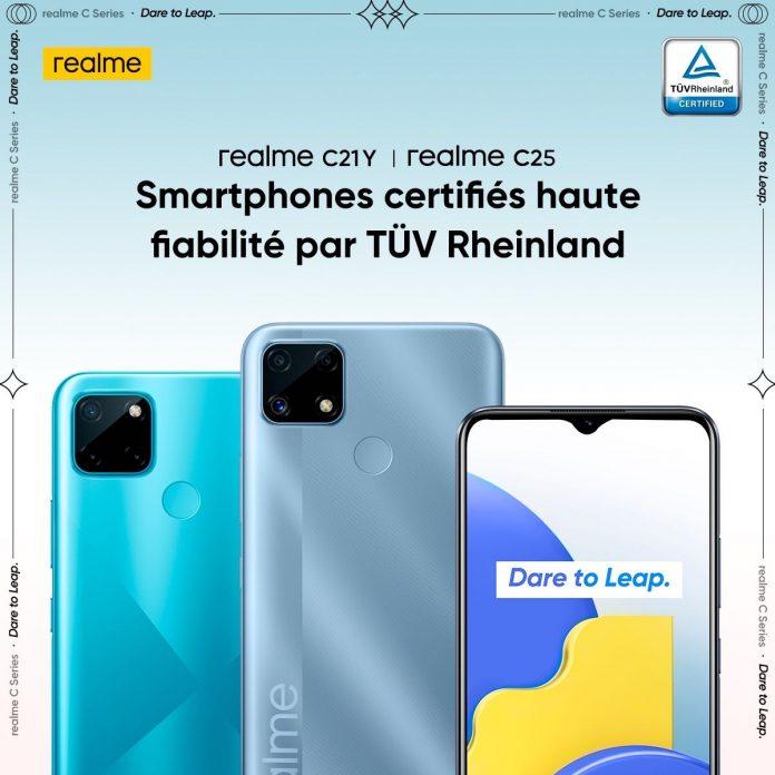 realme lance deux nouveaux smartphones : C21Y et C25