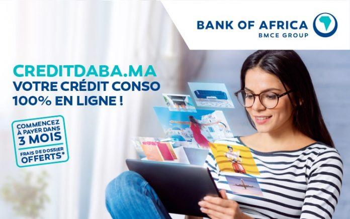 Bank Of Africa dévoile « CreditDaba.ma », crédit à la consommation 100% digitalisé