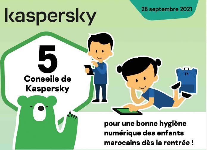 Enfants et hygiène numérique : Kaspersky dévoile les conseils clés pour les nouveaux collégiens