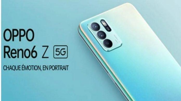 OPPO : arrivée imminente du Reno6 Z 5G au Maroc le 15 septembre prochain