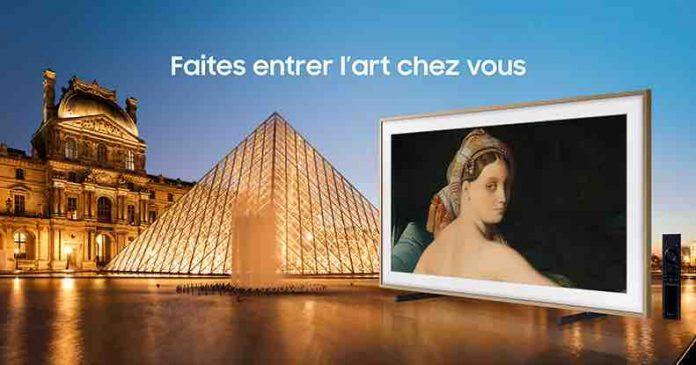 Samsung noue un partenariat avec le Louvre pour sa plate-forme TV d'œuvres d'art