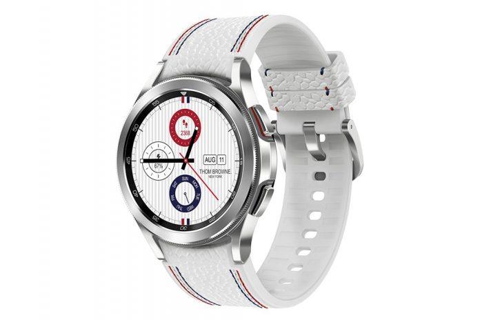 Samsung présente la Galaxy Watch4 Classic Thom Browne Edition