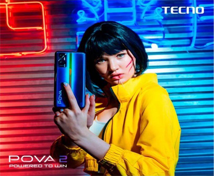 TECNO POVA 2 : le smartphone avec batterie de 7000 mAh